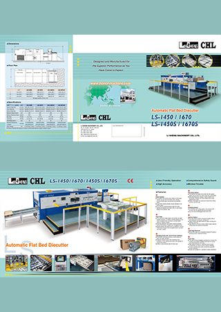 Automatic Corrugated Flat Bed Die Cutting Machines LS-1450 & 1450S