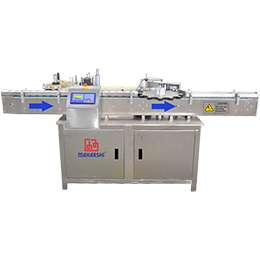 wraparound labelling machine with star wheel
