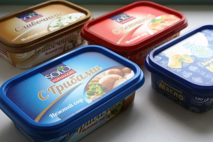 Cheese & Margarine Trays