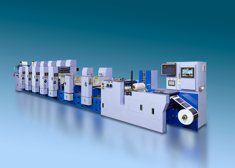 Mlp - Semi Rotary Offset Printing Machine