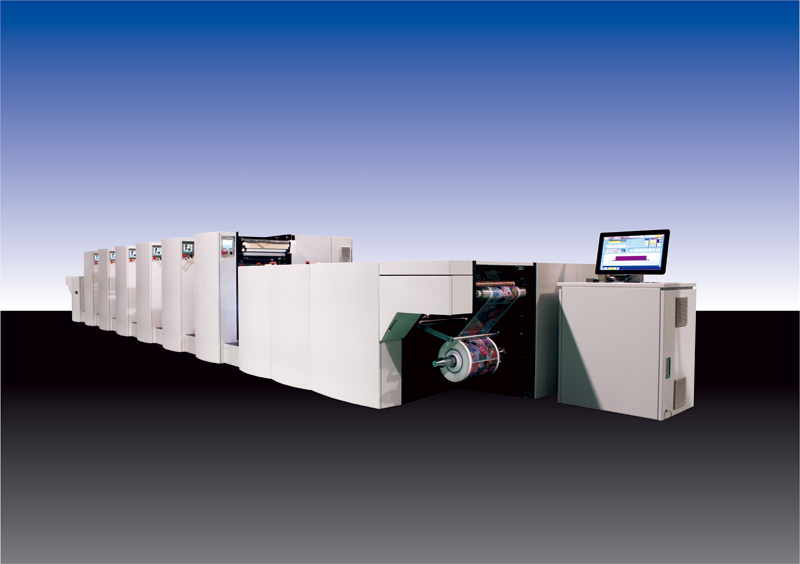 MHL - Full Rotary Sleeve Led UV Printing Machine