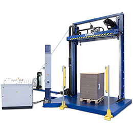 kzv-111-combi automatic pallet strapping machine