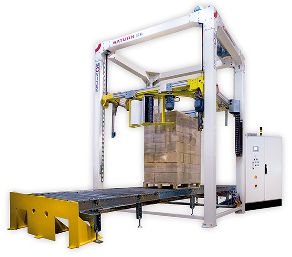 Automatic Pallet Wrapping Machine SATURN S6