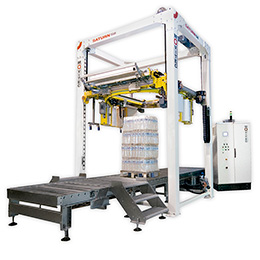 Automatic Pallet Stretch Ring Wrapping Machine SATURN S8
