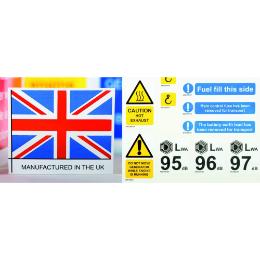Plastic Labels & Signage