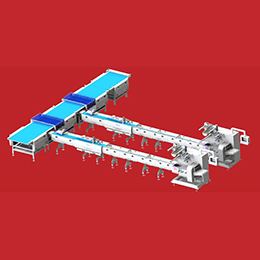 Automatic feeding production line