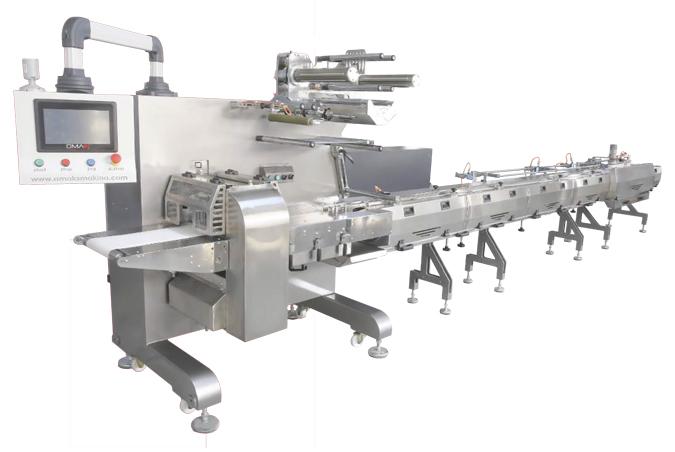 Silver model horizontal packaging machine