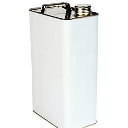 Metal oblong tins