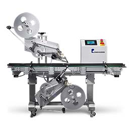 PL-221 TOP AND BOTTOM LABELING MACHINE