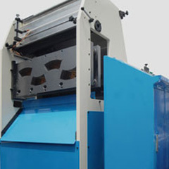 Paper cup punching machine
