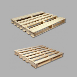 Two-way industrial pallet