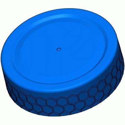 63-Deep Skirt-Honeycomb
