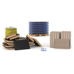 Transport trays & load carriers