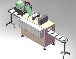 Horizon-Stretch Sleeve Machine