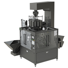 Automatic line for packing dragees
