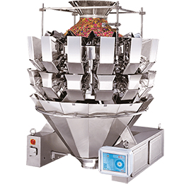 Multi-head weighing dispenser