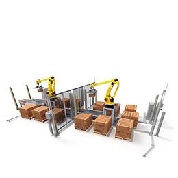 Robot Case Palletizer