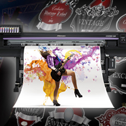 Inkjet Printer Print & Cut - CJV300 Series