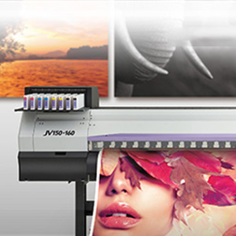Roll to roll inkjet printer - JV150 Series