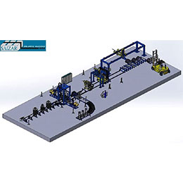 AUTOMATIC WIRE COIL PACKAGING LINE