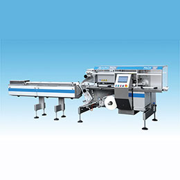 Automatic Flow Wrappers And Feeding System Machine