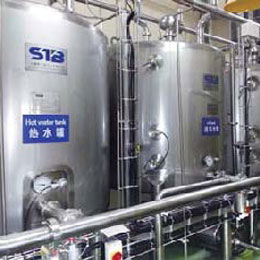 dairy processing machinery