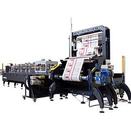 Stand Up Pouch Converting Machines