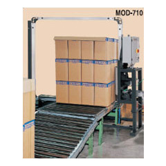 Steel strapping machine