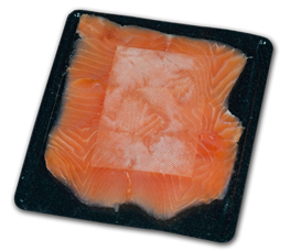 Absorbent pads for smoked salmon and meat