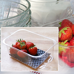 Antibacterial-microbial absorbent fruit pads
