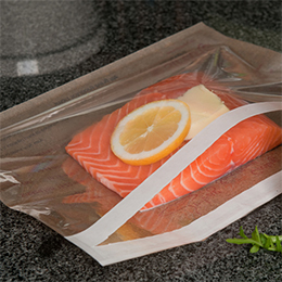 Self Seal Steam Cooking Bags