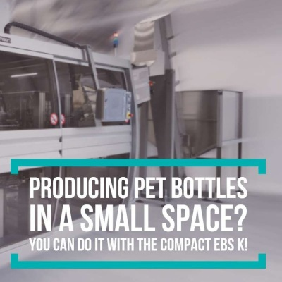 Producing PET Bottles in a Small Space?