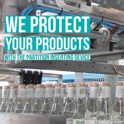 We Protect your Products with the Partition Inserting Device