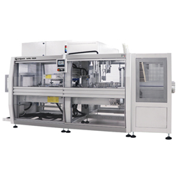 WPS 150R - Automatic wrap-around case packer with in-line infeed