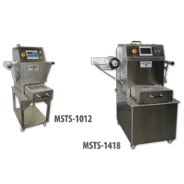 Manual Shuttle Film to Tray Food Packaging Machines