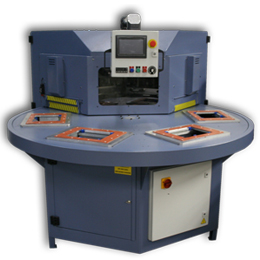 Semi-Automatic Rotary Plastic-to-Plastic Clamshell & Blister Packaging Machines
