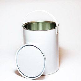 5 litre white / plain