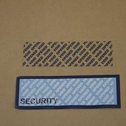 Blue Tamper Evident Security Tape