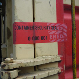 Sea Container Tamper Evident Seals
