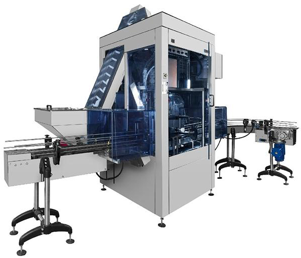 Automatic Inline Capping Machine - Mastercap Indexing Capper