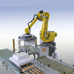 Depalletizing Robotic cell
