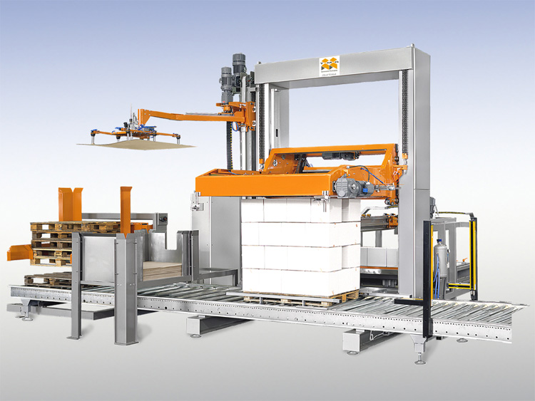 Low-level Automatic Palletiser