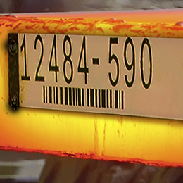industrial tags-metal asset labels