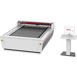 Large-format laser cutter