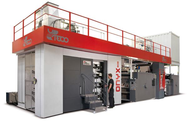 ONYX 808 GL Flexographic Printing Press