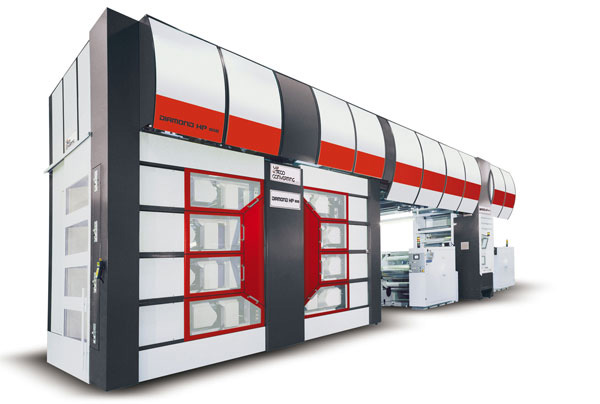 Diamond808HP Flexographic Printing Press