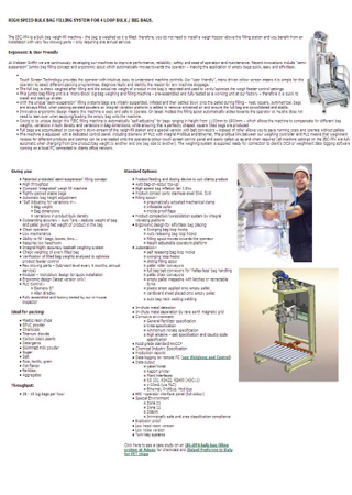 High speed bulk bag filling systems