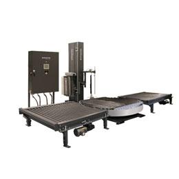 Conveyorized Turntable Stretch Wrapping Machine WCA-SMART