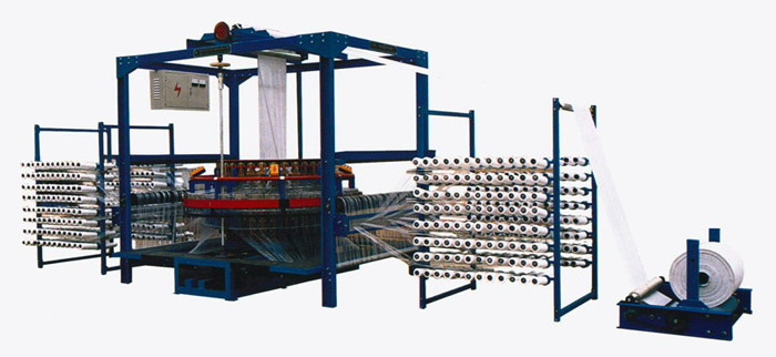 Big-sized 4-shuttle circular loom