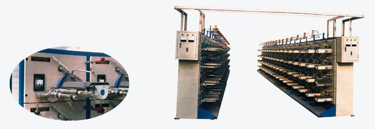 Single-spindle winding machine